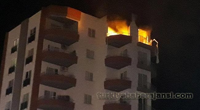Gece Yarısı Apartmanda Korkutan Patlama!