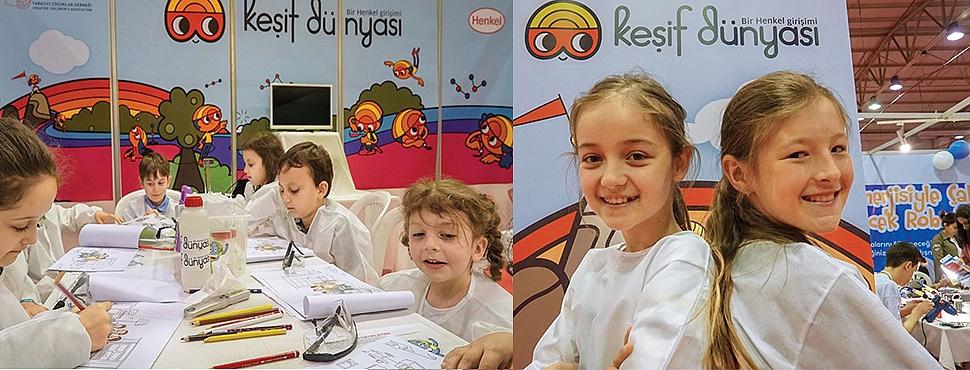 Henkel, Çocukları Keşif Dünyasında Buluşturdu