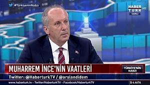 İnce, Habertürk TV'de Gazetecilerin Sorularını Yanıtladı