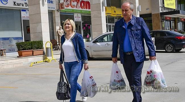 Muharrem İnce ve Eşi Alışverişe Çıktı