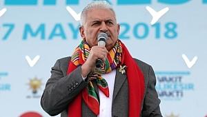 Yıldırım: 'Türkiye'nin Gücü Sizin Oyunlarınızı Bozacaktır'
