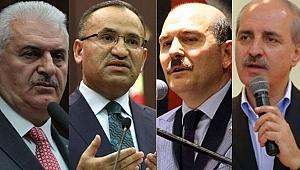 AKP'de Yeni Görev Dağılımı