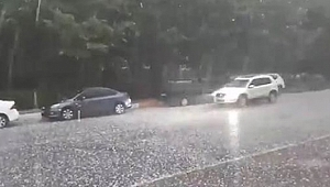 Avcılar ve Hadımköy'de Dolu Yağışı Başladı!