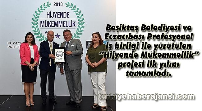 Beşiktaş'ta Hijyende Mükemmellik Sertifikası