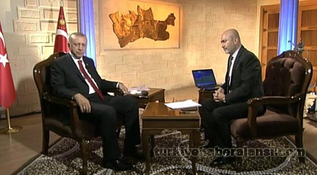 Erdoğan'dan Seçim Özel Programında Koalisyona Yeşil Işık