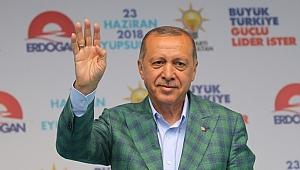 Erdoğan, Eyüpsultan İlçe Mitinginde Konuştu