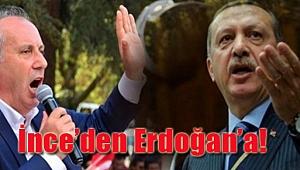 Erdoğan'ın Ömer Halisdemir çıkışına Muharrem İnce'den Cevap