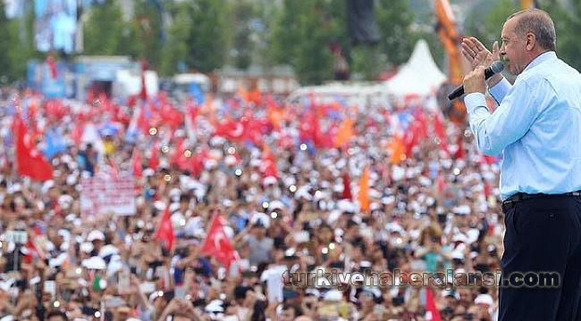 Erdoğan Yenikapı'dan İstanbullulara Seslendi