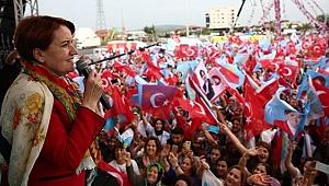 Meral Akşener'e Osmaniye'de Sevgi Seli