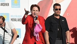 Meral Akşener İzmir Tire'de Vatandaşlara Hitap Etti