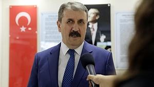 Mustafa Destici'den Milletvekili Sayısı Açıklaması
