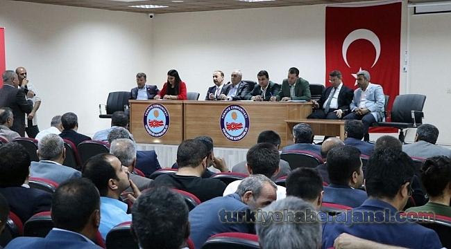 Viranşehir'de İstişare Toplantısı