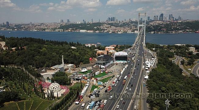 15 Temmuz Şehitler Köprüsü ve Bazı Yollar Trafiğe Kapatıldı!