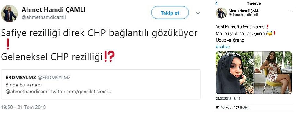 AK Partili Vekilden Skandal Paylaşım!