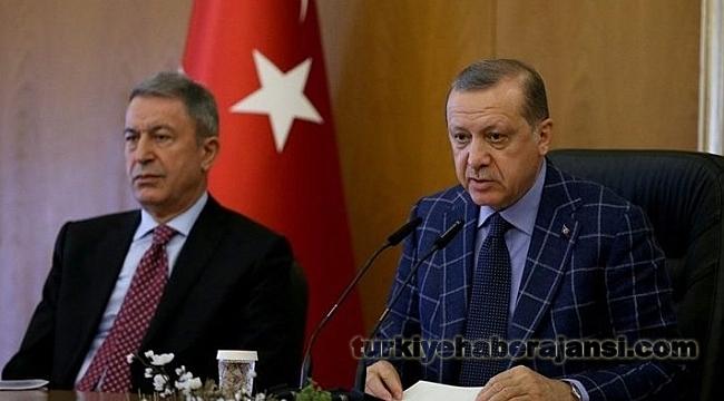 Başkan Erdoğan ve Akar İlk Ortak Operasyonlarını Gerçekleştirdi