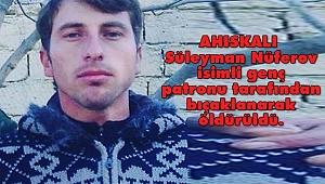 Bursa'da Ahıskalı Genç Cinayete Kurban Gitti