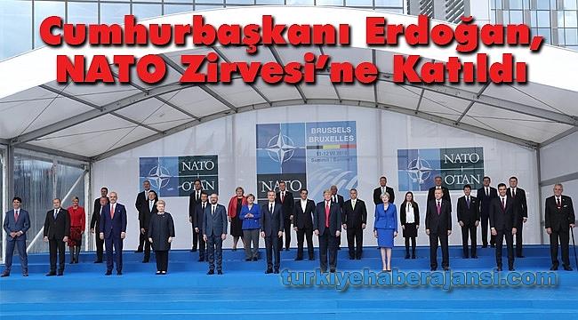 Cumhurbaşkanı Erdoğan, NATO Zirvesi'ne Katıldı