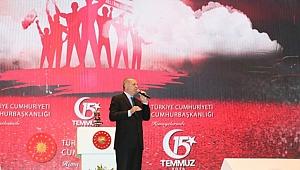 Cumhurbaşkanı Erdoğan Şehitleri Anma Töreninde!