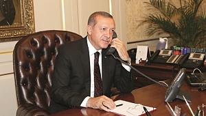 Erdoğan Barzani İle Telefonda Görüştü