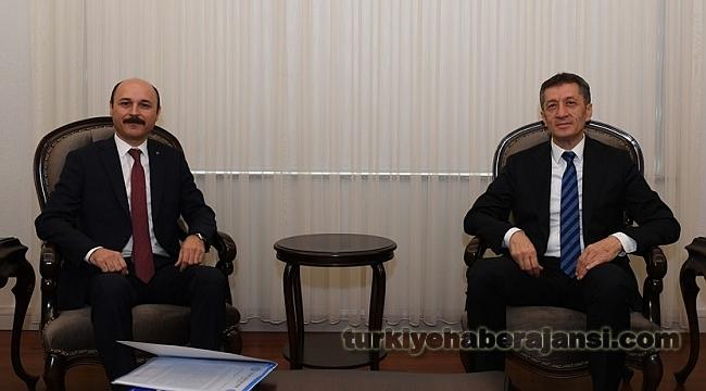 Genel Başkan Geylan'dan, Bakan Selçuk'a Hayırlı Olsun Ziyareti