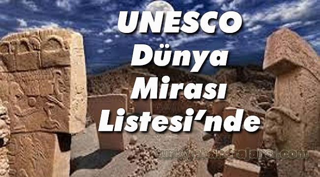 Göbeklitepe Unesco Dünya Mirası Listesinde Turizm Türkiye Haber