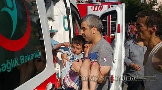 Kahraman Baba Çocuklarını Kurtardı