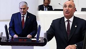Meclis Başkanı Yıldırım İle CHP'li Tanal Arasında 'Dalma' Krizi