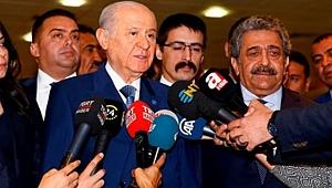 MHP Lideri Devlet Bahçeli'den Flaş Kabine Açıklaması!