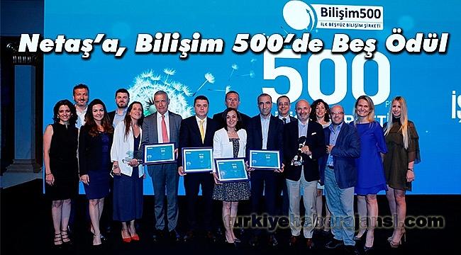 Netaş Bilişim 500'de Beş Ödül Daha Aldı
