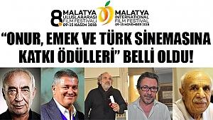 'Onur, Emek ve Türk Sinemasına Katkı Ödülleri'