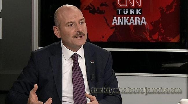 Soylu'dan Canlı Yayında CHP ve HDP'ye Sert Tepki