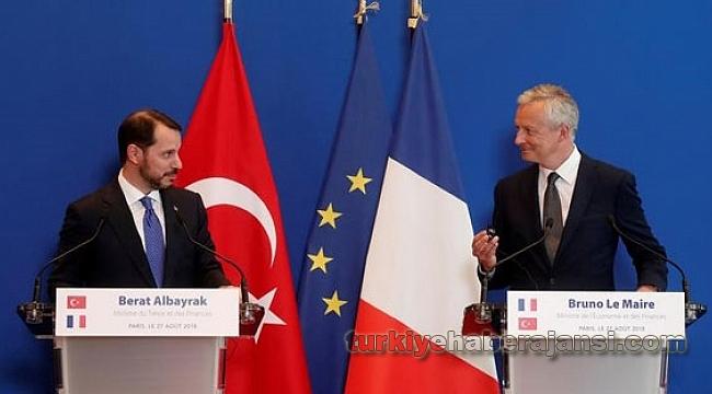 Albayrak: Fransa İle Ortak Hareket Etme Kararı Aldık