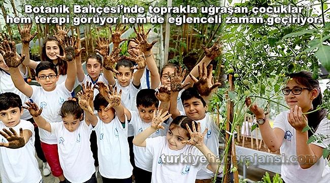 Bağcılar'da Çocuklar Bitkilerle Arkadaş Oldu
