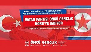 Öncü Gençlik, KDHC'nin Kuruluş Yıl Dönümüne Katılacak