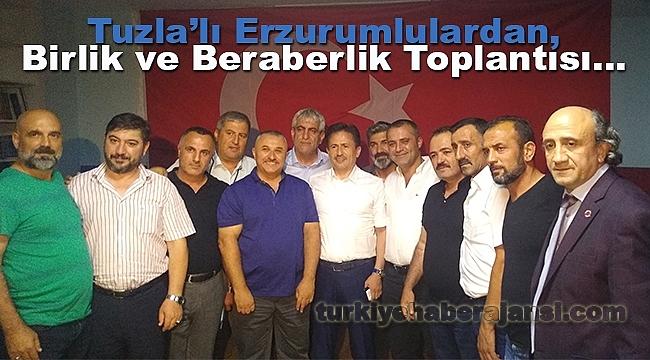 Tuzla'lı Erzurumlulardan, Birlik ve Beraberlik Toplantısı