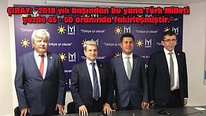 '2018 yılı Başından Bu Yana Türk Milleti Yüzde 45 - 50 Fakirleşti'