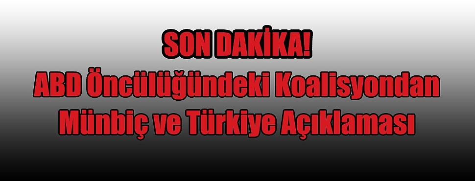 ABD'den Türkiye İle İlgili Flaş Açıklama!