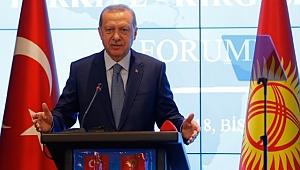 Cumhurbaşkanı Erdoğan'dan Kırgızistan'da Dolar Açıklaması