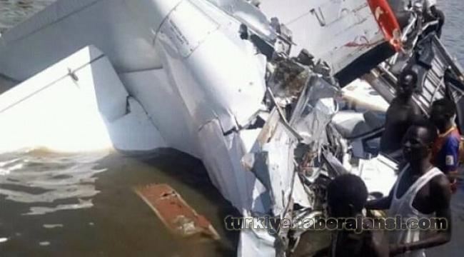 Sudan'da Yolcu Uçağı Düştü! Çok Sayıda Ölü Var