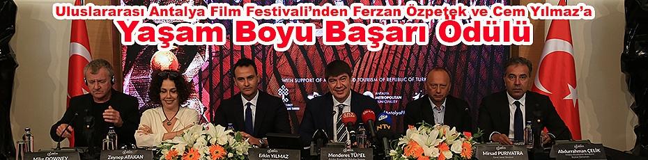 Türkiye'nin Oscarları, Antalya Film Festivali'nde Dağıtılacak