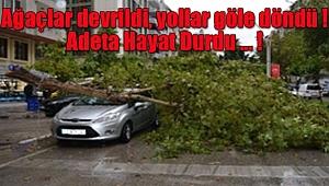 Adana'da Hayat Durma Noktasına Geldi
