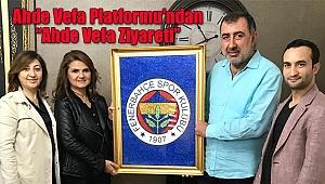 Ahde Vefa Platformu'ndan Ferhan Ademhan'a Ziyaret