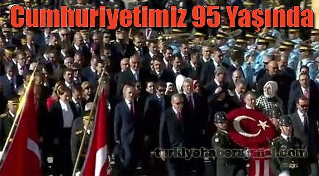 Cumhuriyet'in 95. Yılında Coşkulu Kutlamalar