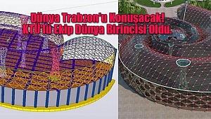 Dünya Trabzon'u Konuşacak! KTÜ'lü Ekip Dünya Birincisi Oldu.