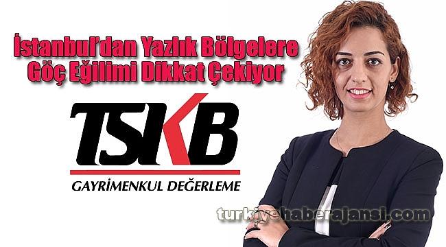 İstanbul'dan Yazlık Bölgelere Göç Eğilimi