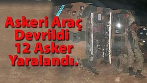 Şırnak'tan Kötü Haber, 12 Asker Yaralı