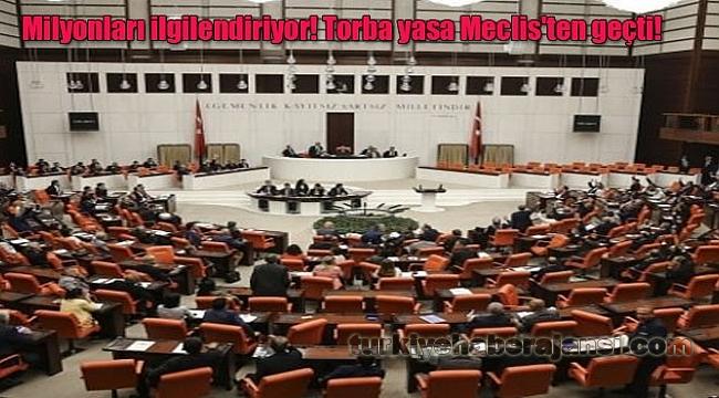 Trafik Kanunu da İçinde Bulunduran Torba yasa Meclis'ten geçti!
