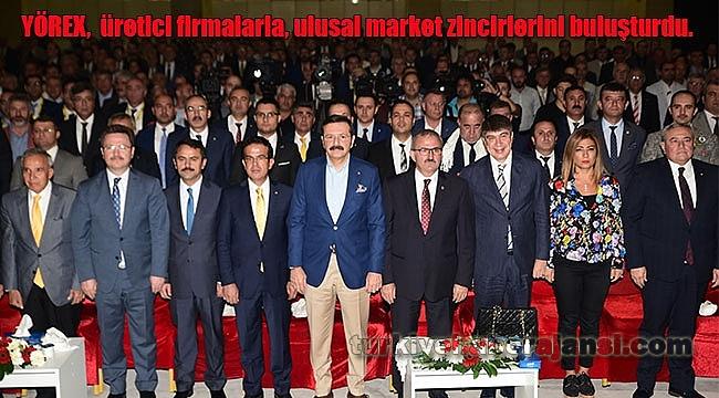 Üretici ile Marketler YÖREX'te Buluştu