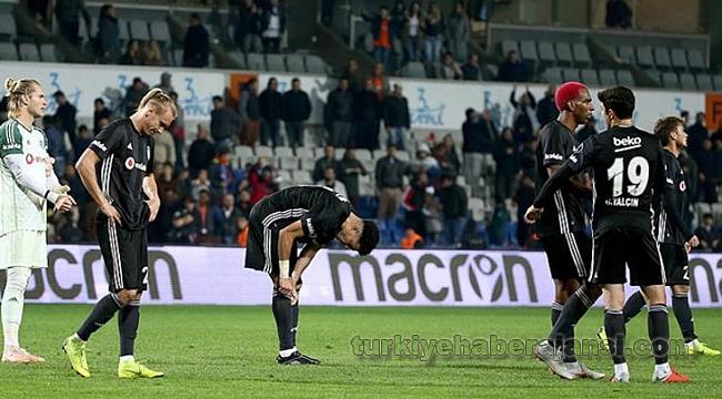 Beşiktaş Son 6 Resmi Maçta Savunmayı Unuttu