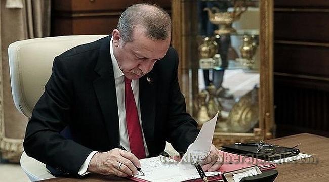 Cumhurbaşkanı Erdoğan İmzaladı!